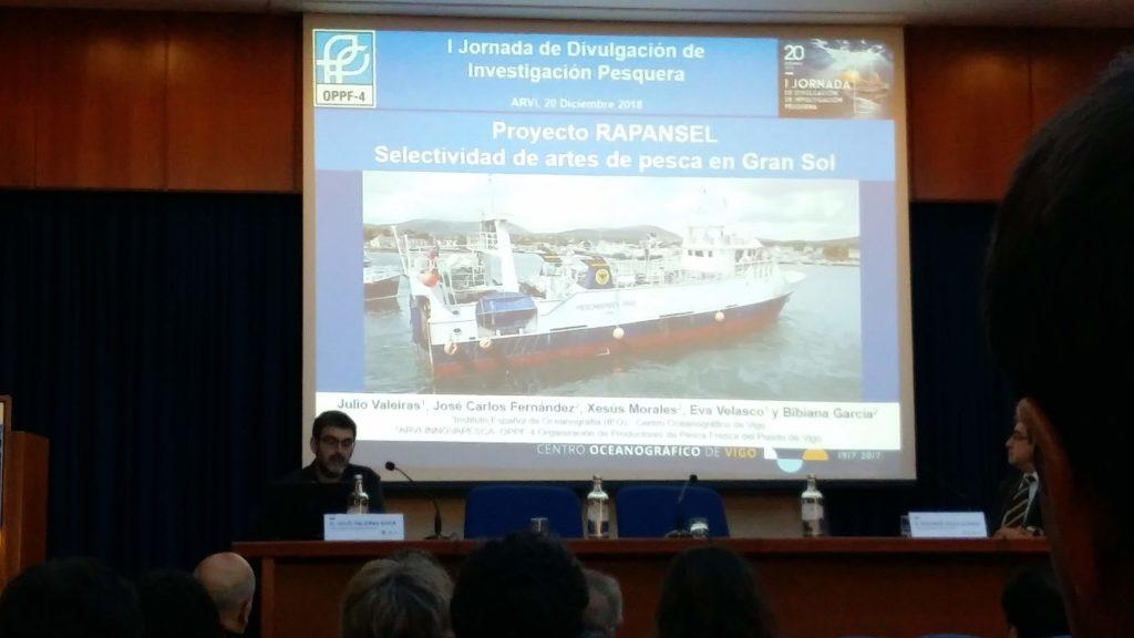 foto presentación I xornadas de investigación mariña ARVI