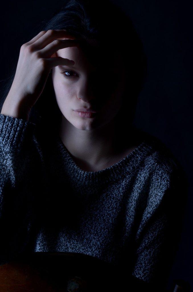 Depresión nas mulleres. Fonte: pixabay.com