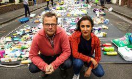 """Manual de """"Guerra ao plástico con Hugh e Anita"""""""